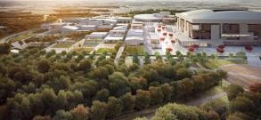 Le Grand stade serait placé au centre d'une continuité verte vers le Bois de Saint-Eutrope. (Crédit photo : l'AUC/CAECE)